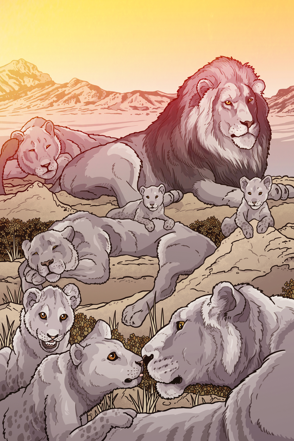 """The Pride"" - American Lions"