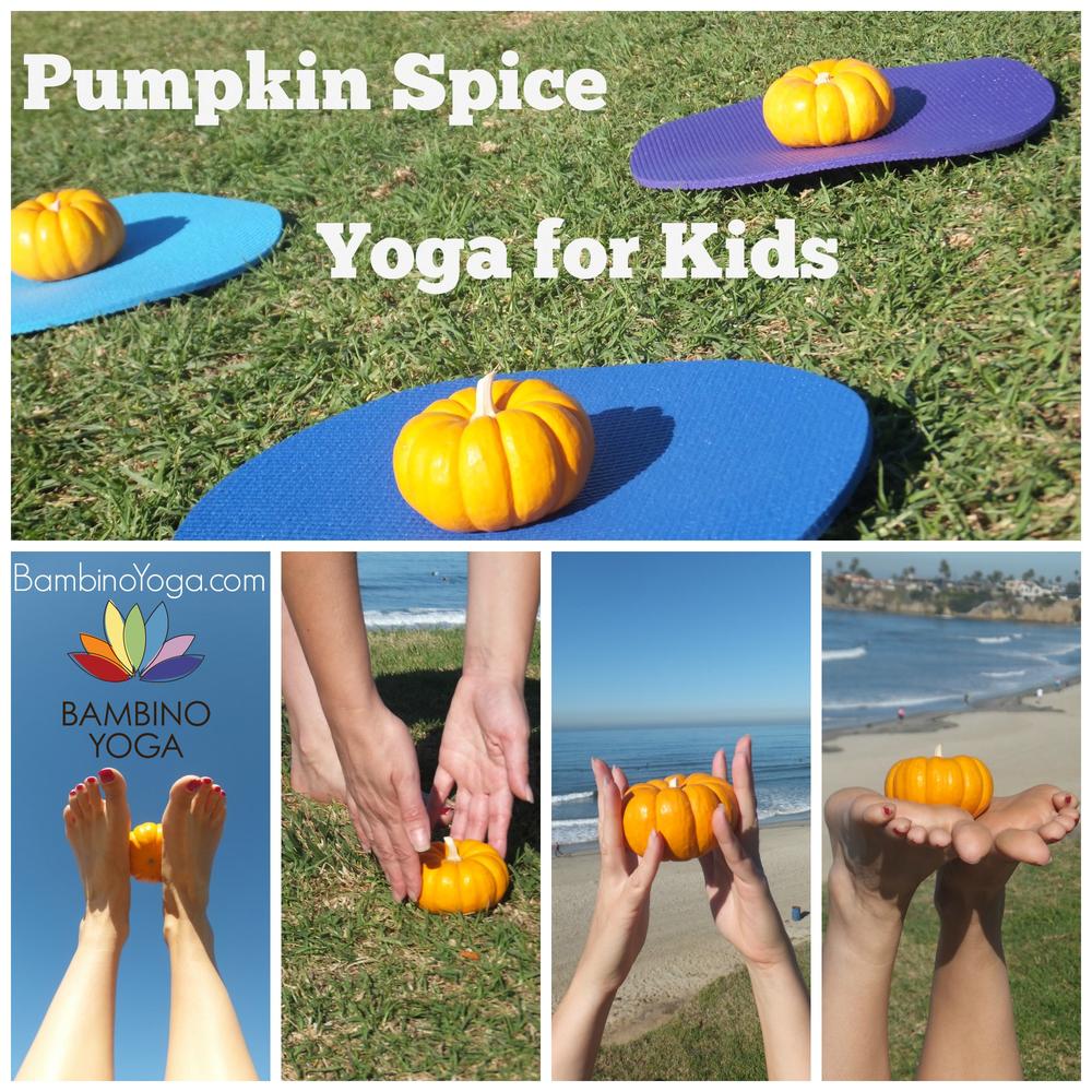 Pumpkin Spice Yoga For Kids