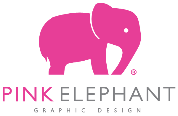 Pink Elephant Graphic Design