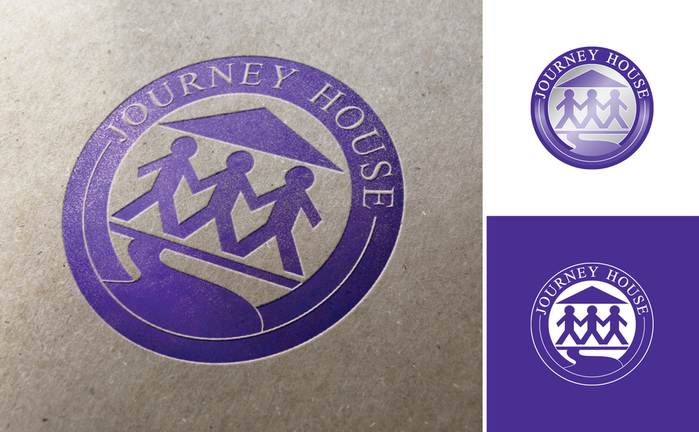 Journey House Logo  by  Dionna L. Hayden