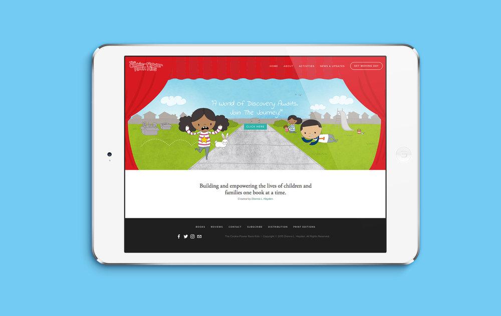 The Cookie-Flower Rock Kids Website