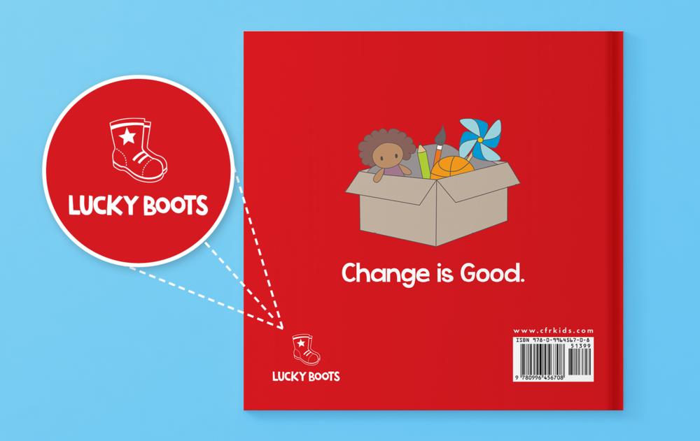 Lucky Boots Book brand