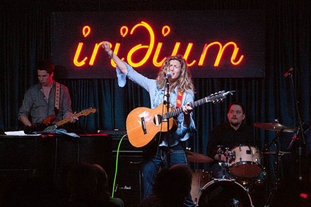 with Sophie B. Hawkins at Iridium in NYC - March 2012