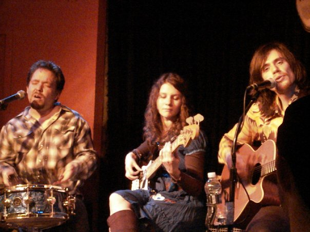 with Mike & Donna Pfeiffer performing at Puck