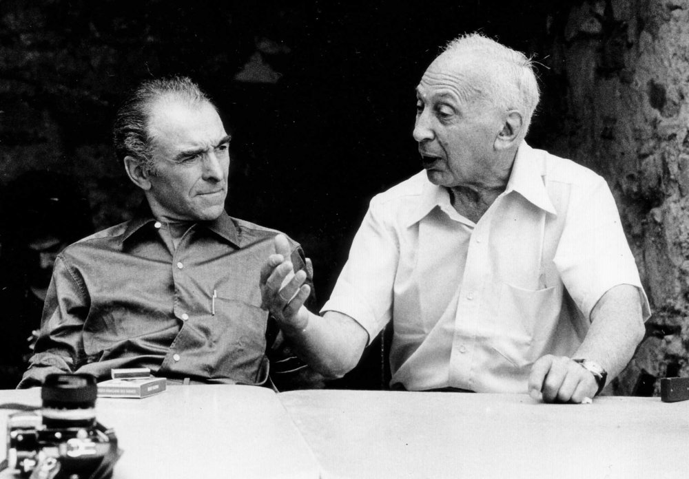 Doisneau (left) and  André Kertész  in 1975, by Wolfgang H. Wögerer, at Arles