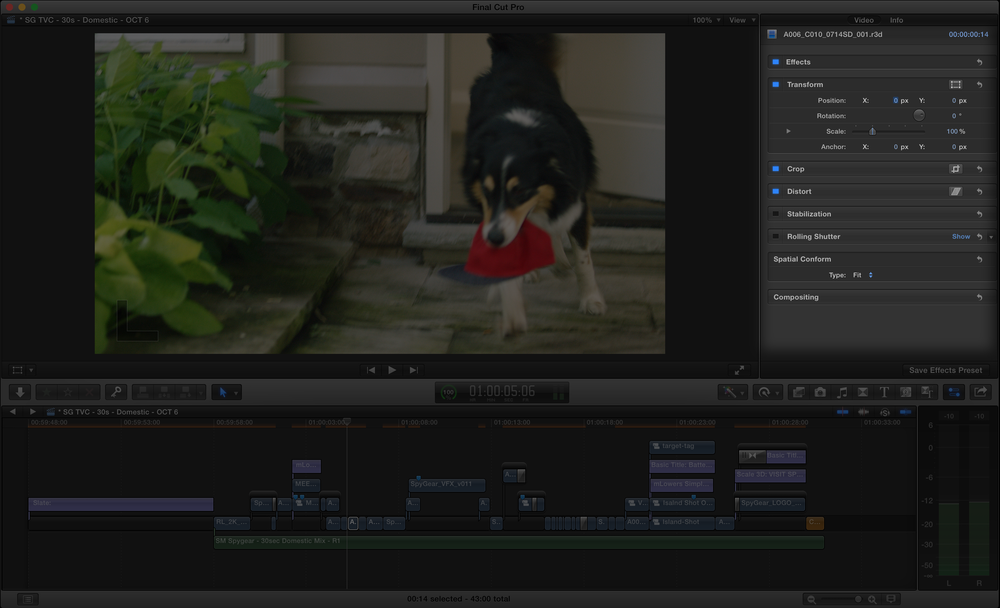 FCP X's Spatial Conform tools make working with 4K in a 1080p timeline a breeze!
