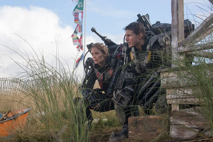 Edge of Tomorrow - Rita and Cage