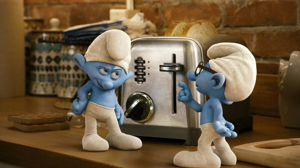 Copy of Copy of Copy of Grouchy and Brainy - The Smurfs