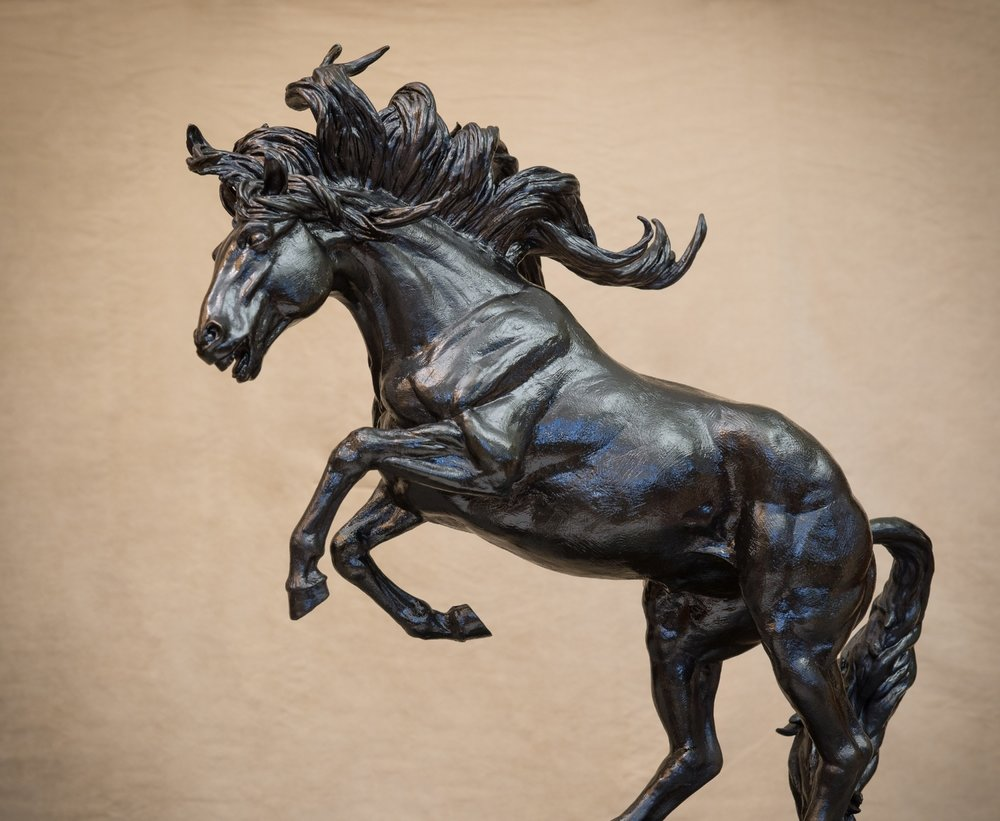 Running Free Horse bronze sculpture by Terrence Robertson-Fall-6848.jpg