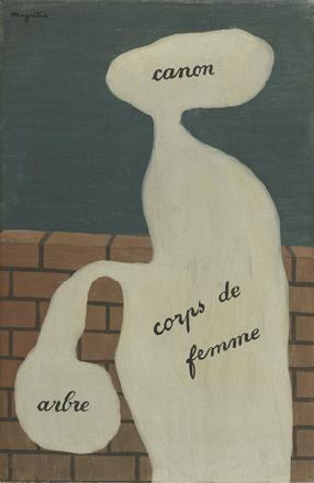 Woordgebruik, 1929. © Magritte Museum