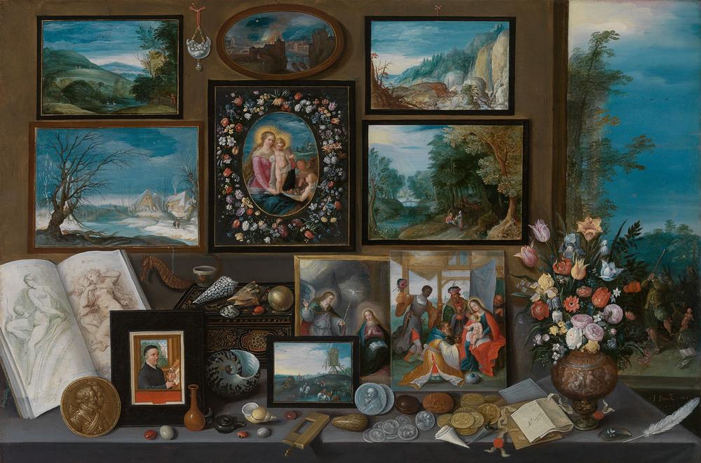 Kunstkamer, Frans Francken II,   (Antwerpen 1581-1642) © KMSKA