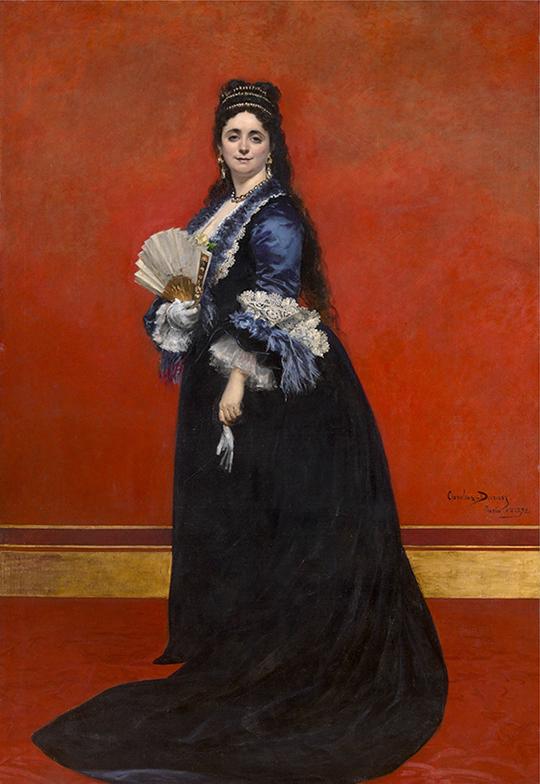 Emile Auguste Carolus-Duran, Gravin Rattazzi,1872