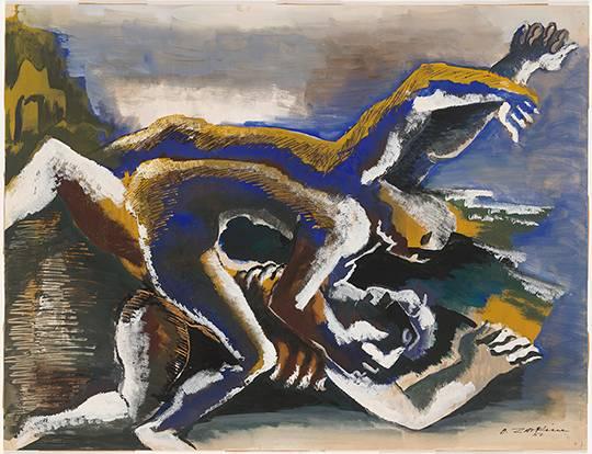 Ossip Zadkine, Kaïn en Abel, 1953