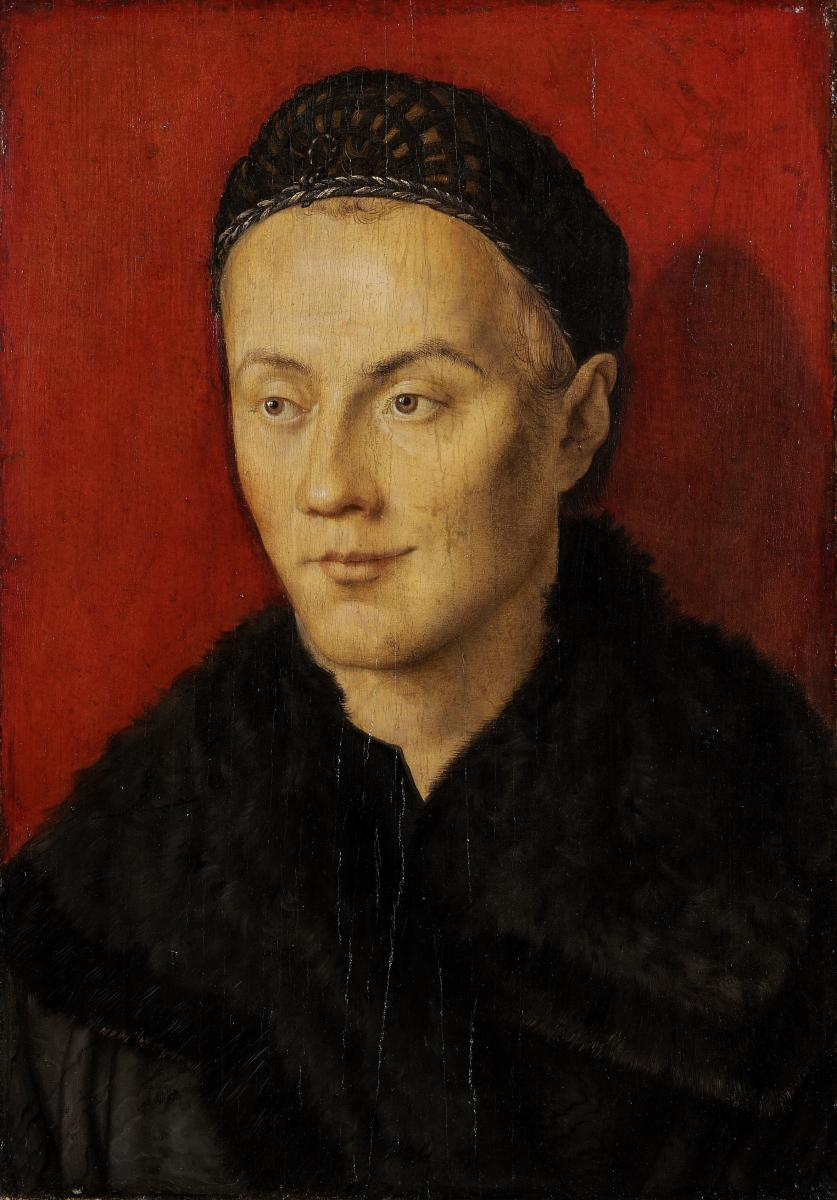 Albrecht Dürer, Portret van een jongeman, ca.1500-1510