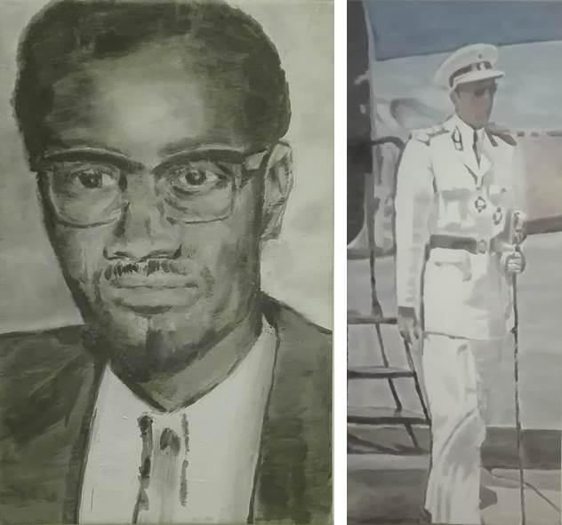 """Luc Tuymans, """"Lumumba"""" en """"Mwana Kitoko"""" (beide 2000)"""