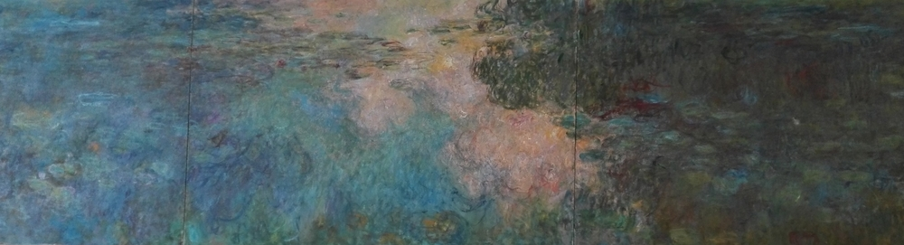 Claude Monet, Le Bassin des Nympéas (detail).