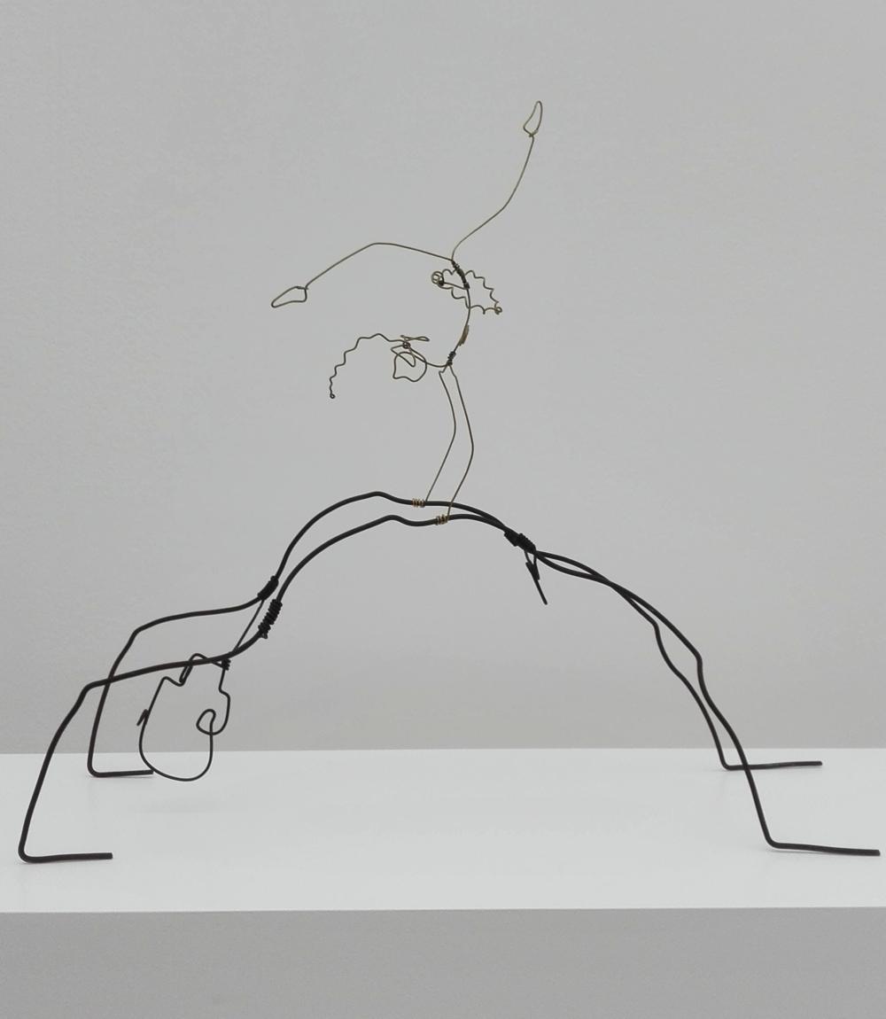 Een 'wire figure' van Calder.