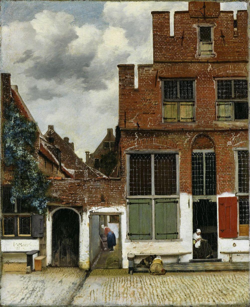 Johannes Vermeer,Het Straatje, ca. 1658 (© Rijksmuseum, Amsterdam)