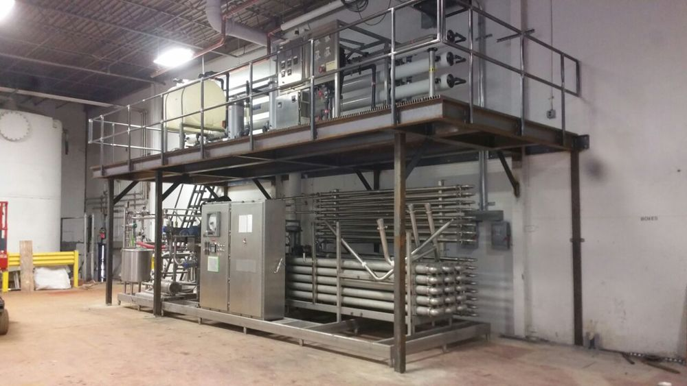 STAIRCASES, RAILINGS & PLATFORMS — Altona Custom Metal Works
