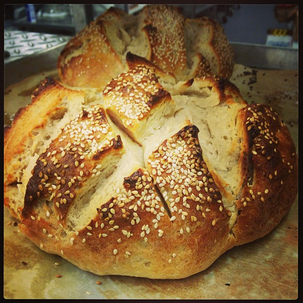 Sourdough and Sesame Boule