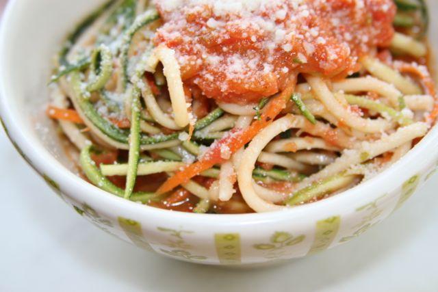 Tricolored Pasta