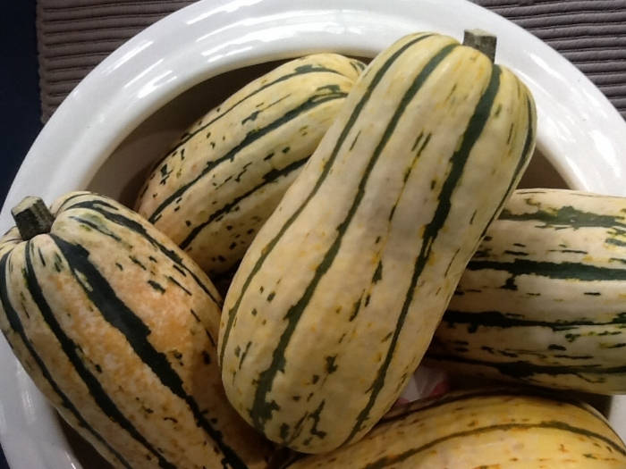 Delicata squash teams with the basics from the SimplyCooking® Pantry in several SimplyCooking® posts this Fall.