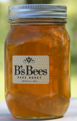 Local Missouri honey from my dear friend's hives.