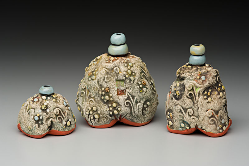 Three Bumpy Bottles