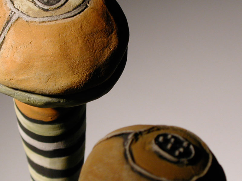 Detail of bottle stoppers