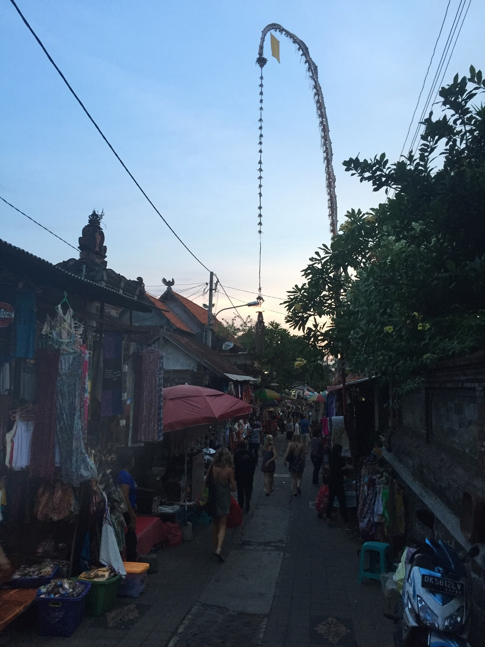 Ubud market (closes around 5pm so get there early)