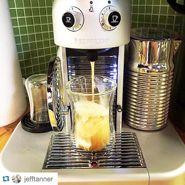 #Repost @jefftanner ・・・ Fridays are for affogatos. @bestcoastcreamery @nespresso @mibuulondon @wayfarehq #coffee #espresso #London #mibuu #happy #friday
