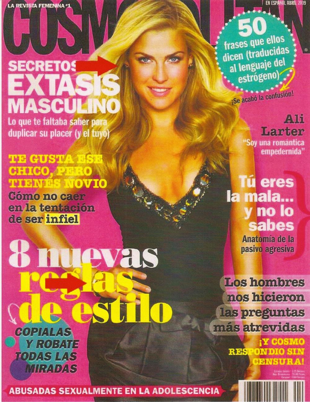 Cosmopolitan En Espanol with Ali Landry wearing Landver Jewelry