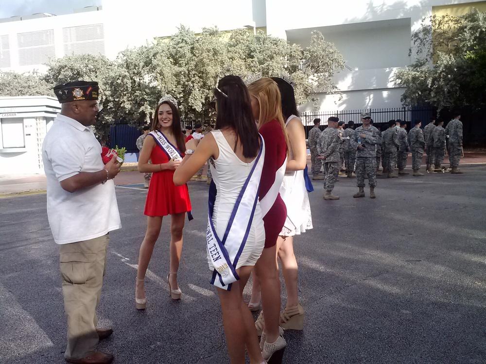 Veterans Day Parade at Miami Beach.
