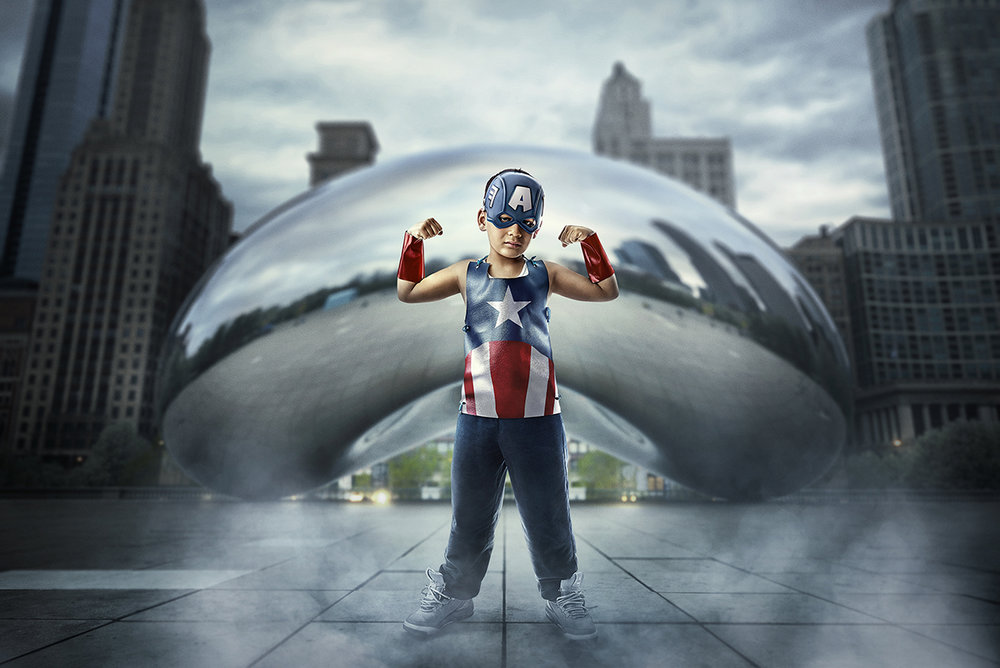 Childhood Cancer Superhero - Moises