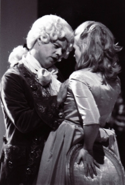 Sade confronts Pelagie, Madame de Sade, played by Phoebe MacRae