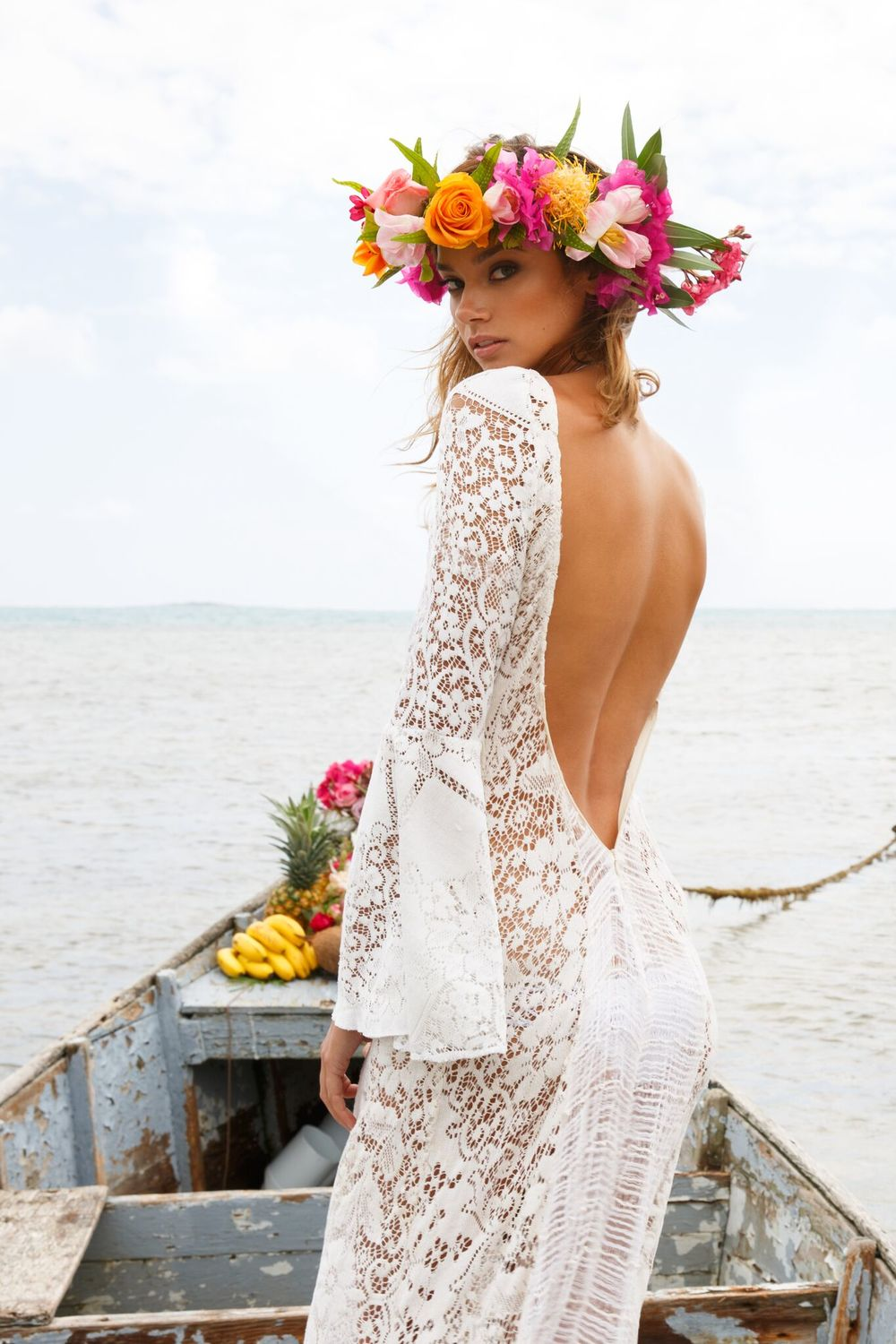 Hawaiian weddings gallery wedding dress decoration and for Wedding dresses for hawaii
