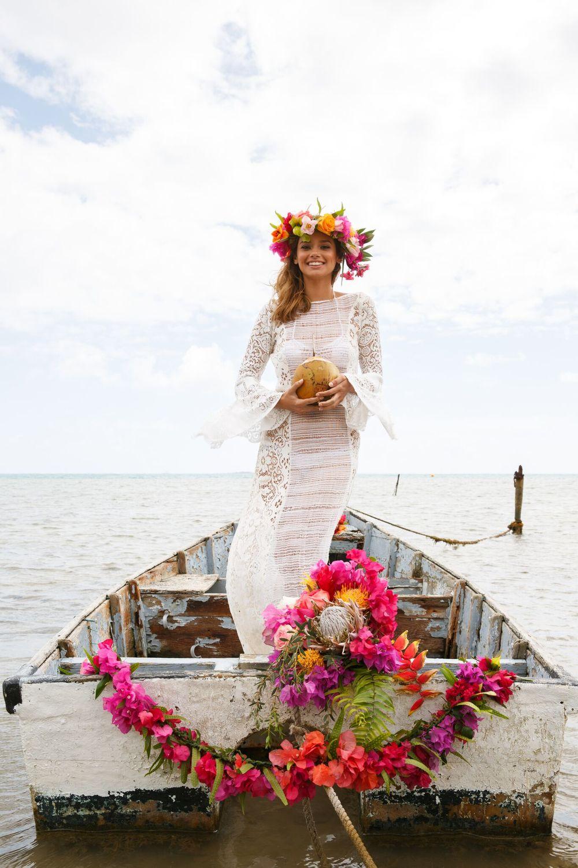 Hawaiian Wedding Inspiration Hawaiian Wedding Dresses Couture
