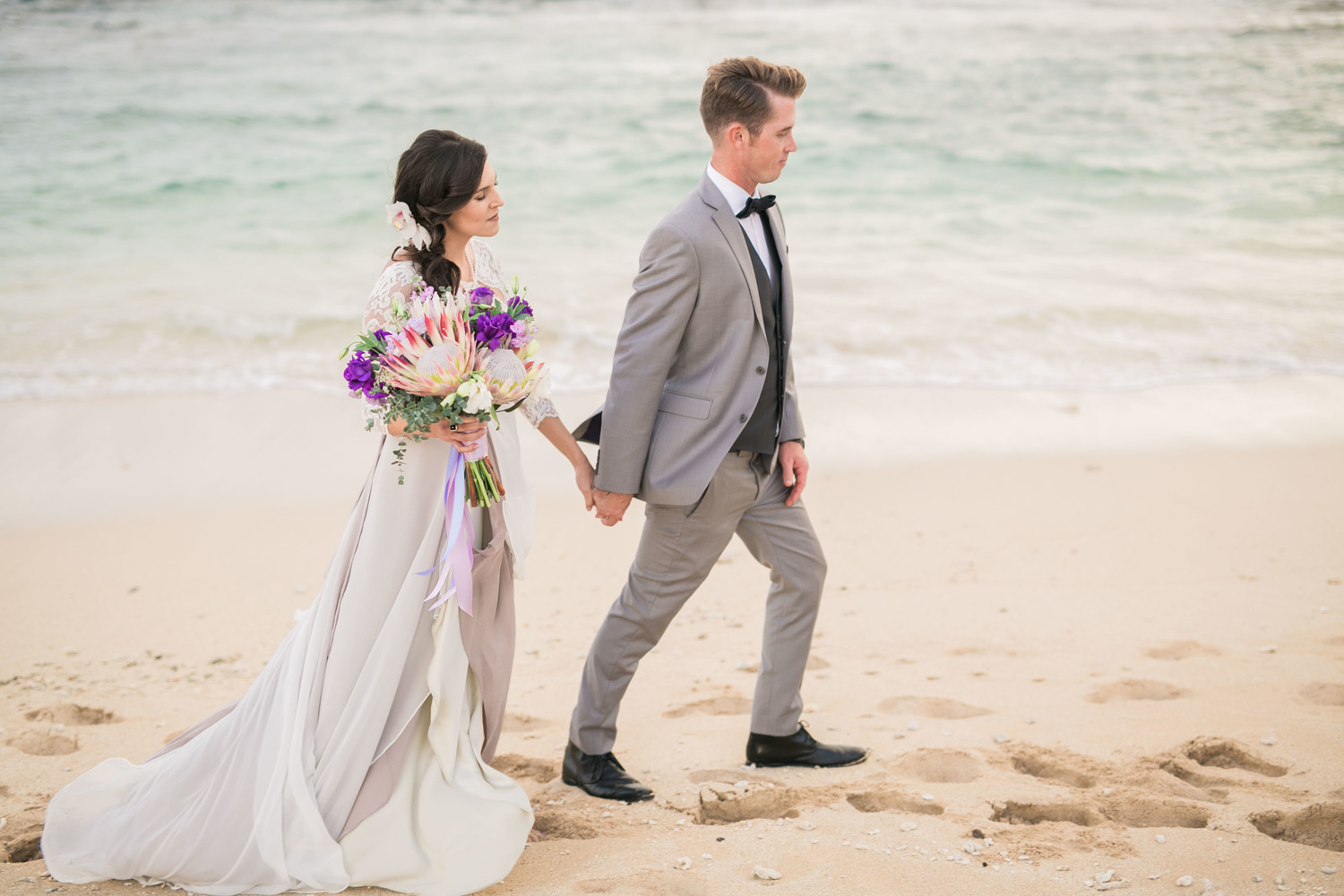 Hawaiian Wedding Dresses Couture Rtw Gowns Joelle Perry Fashion