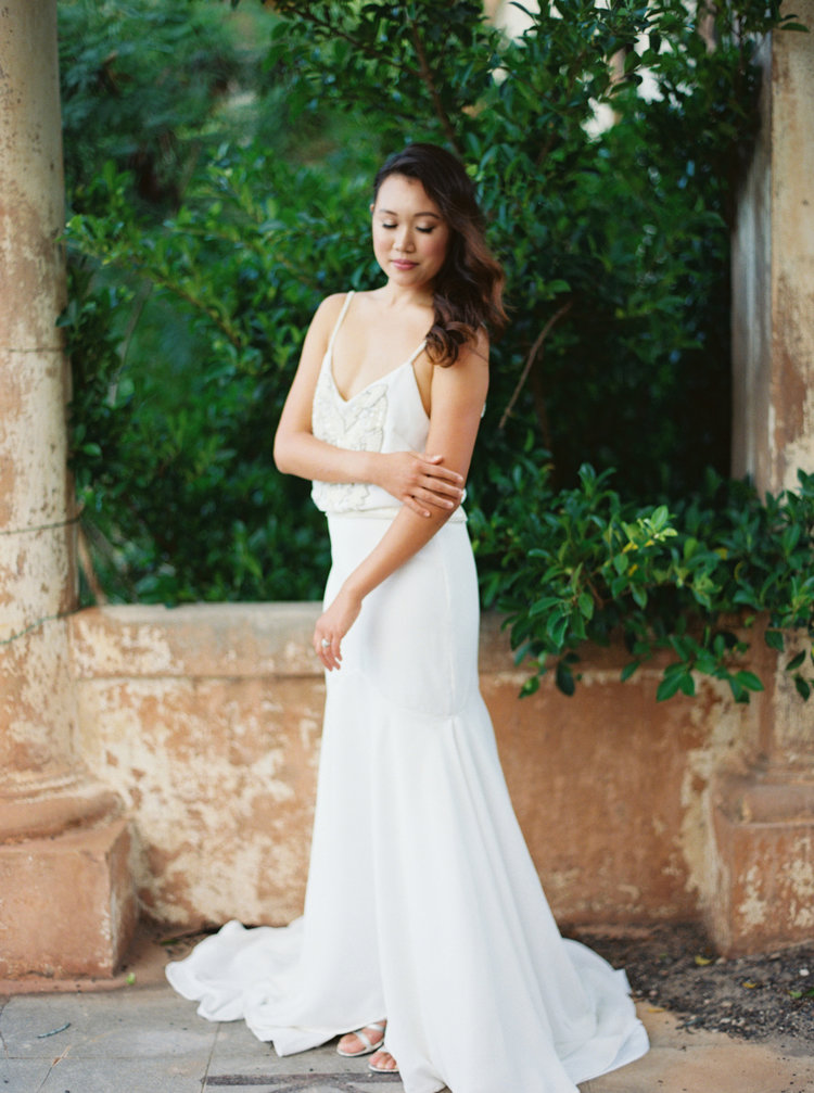 Simple & Unique Wedding Dresses by Joelle Perry | Custom Gowns ...