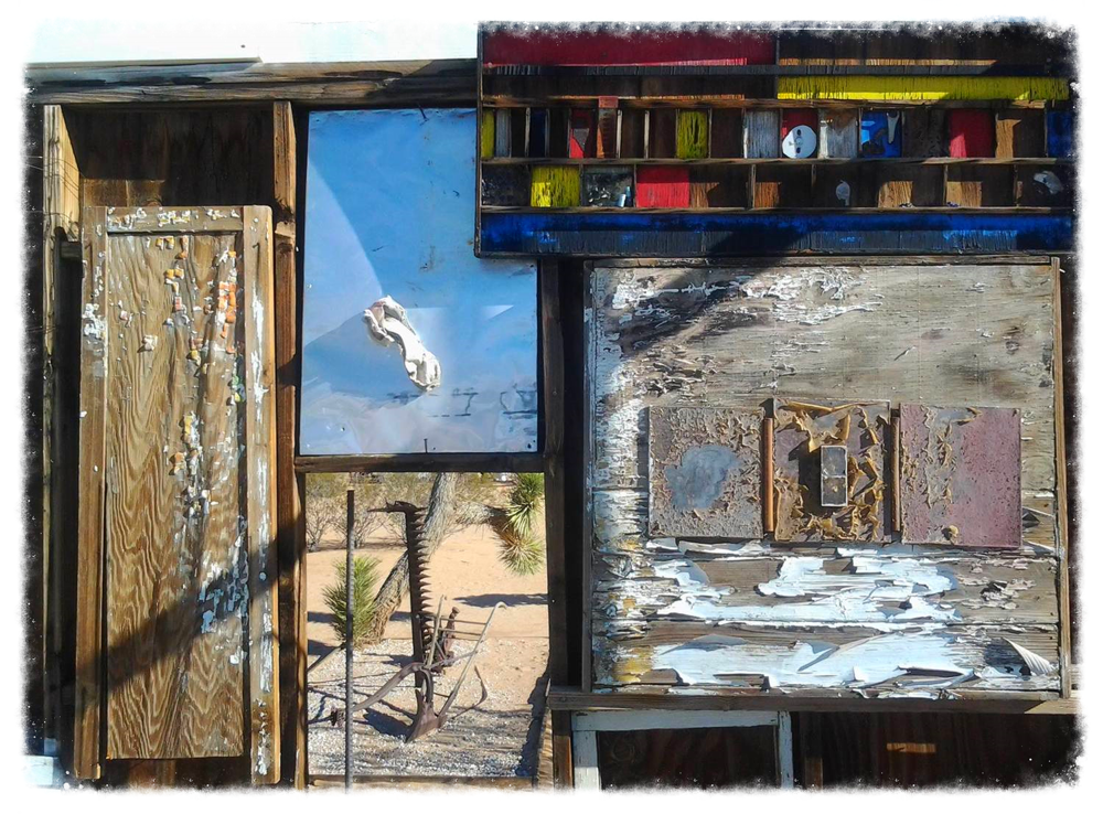 Photo credit: ©amygigialexander 2014/art assemblage close-up by Noah Purifoy
