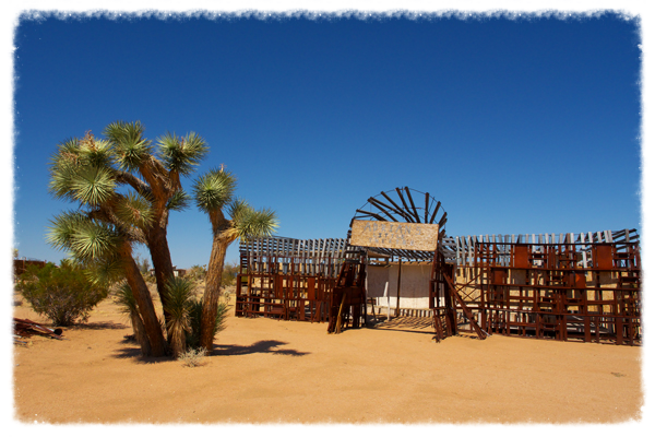 Photo credit: Noah Purifoy Outdoor Museum/Foundation. Art: Noah Purifoy: The Stage