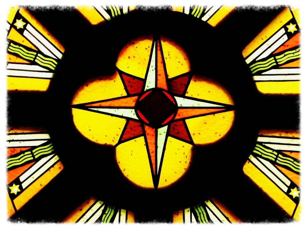Photo credit: ©amygigialexander2014/Stained glass window in small village church in France