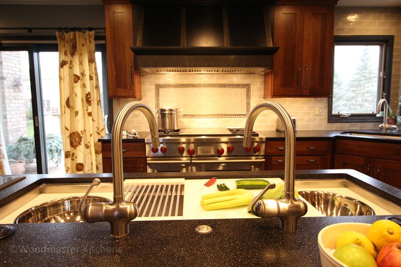 Kitchen design with a Galley Sink.