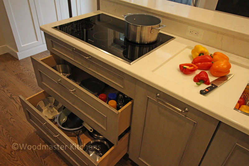 kitchen design with customized storage solutions