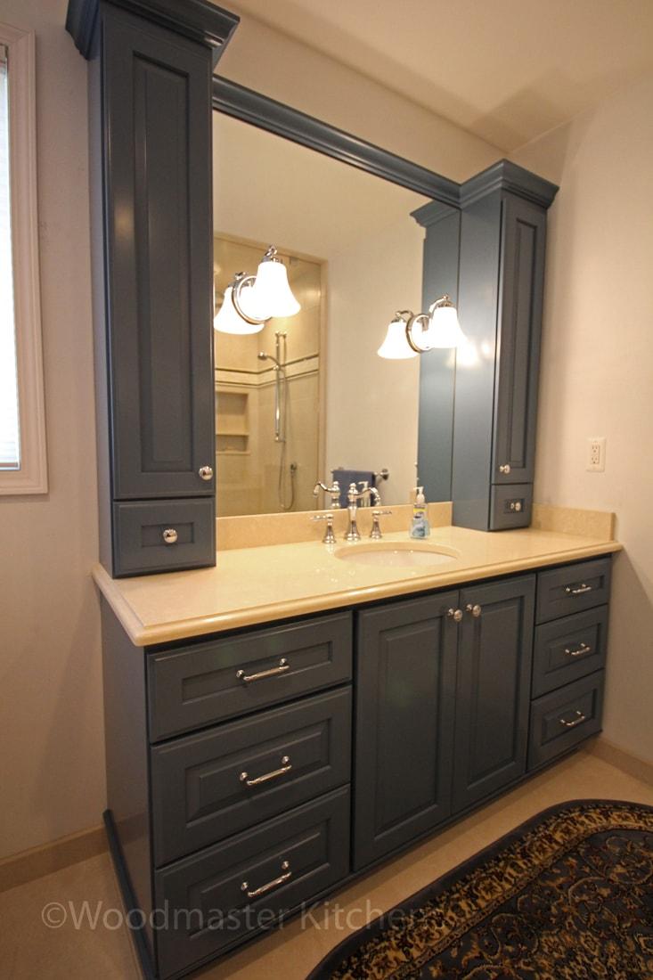 Bathroom vanity with ample storage
