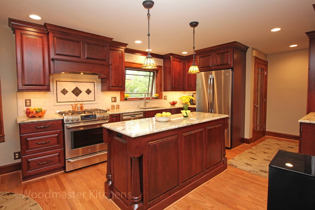Traditional Charm - Grosse Pointe Woods — Woodmaster Kitchens
