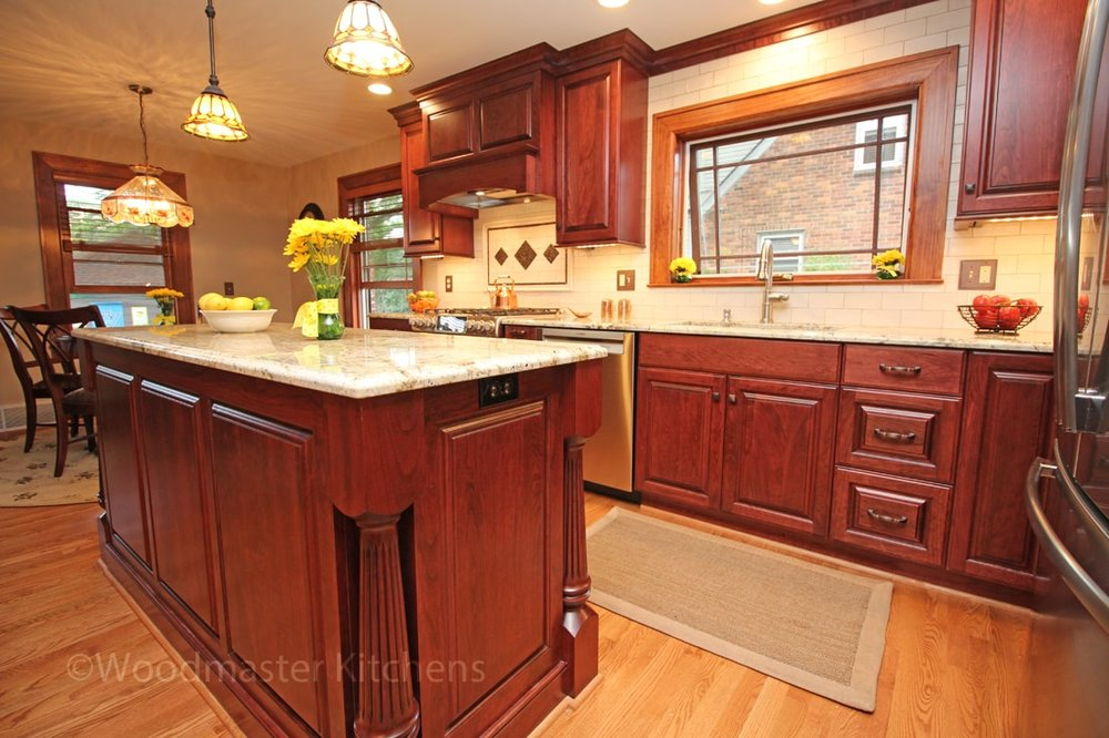 Traditional Charm   Grosse Pointe Woods U2014 Woodmaster Kitchens