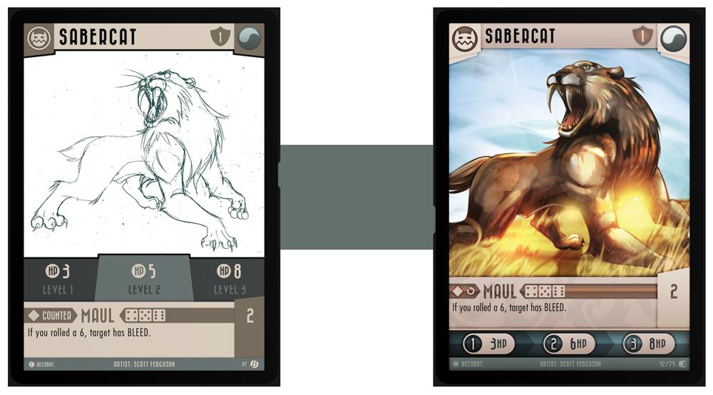 Sabercat Comparison