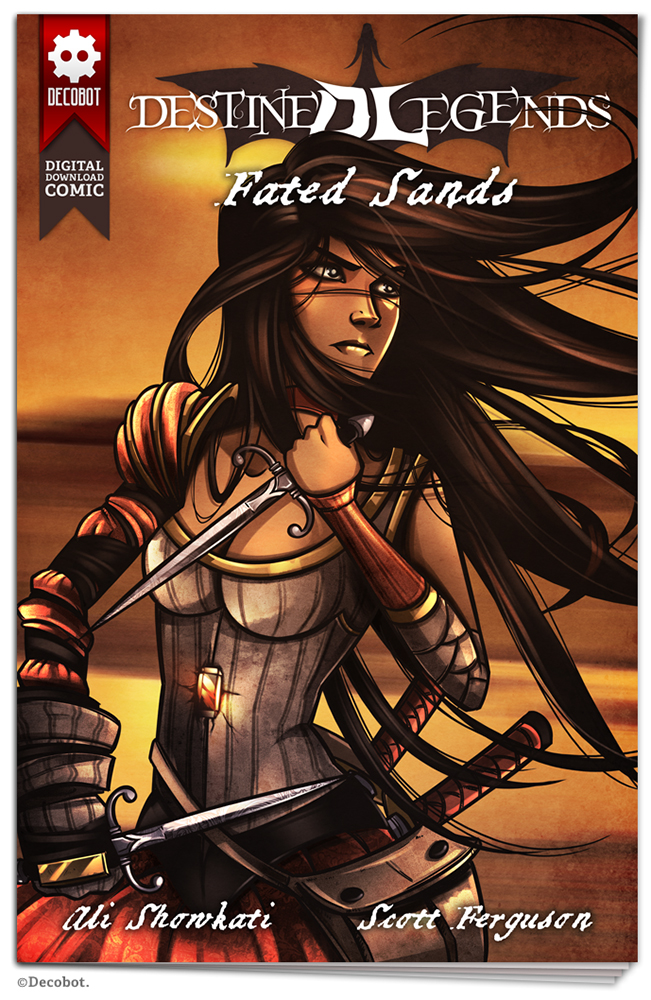 Fated Sand Digital Comic (Temporary Cover Art)