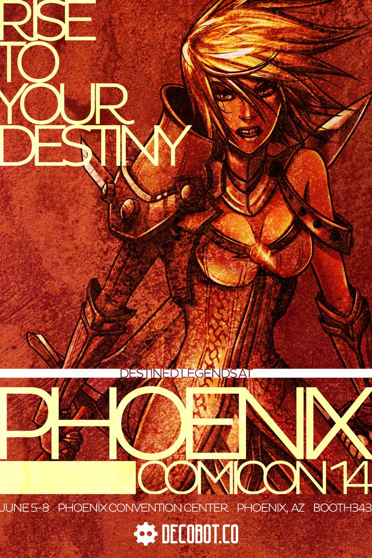 Destined Legends at Phoenix Comicon 2014